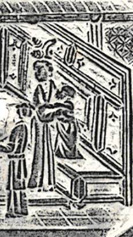 Detail of the right side of the picture